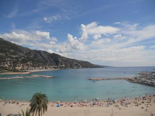Luxury beachfront rental, Menton, French Riviera