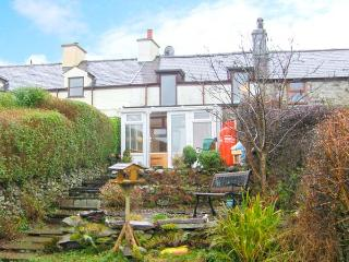 BRYN MORFA, views over countryside to sea, woodburner, garden, near Penygroes, R
