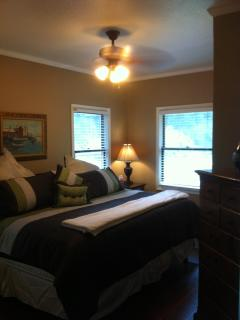 Master Bedroom 2 with king size bed