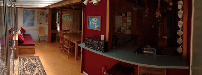 Kitchen and DIning area (panorama photo)
