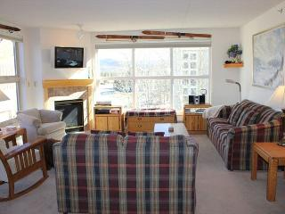 TW210 Pretty Condo w/Common Hot Tub, Mountain Views, Fireplace, Garage