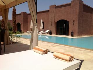 Villa Tamara, Dar Marrakech for 6 persons.