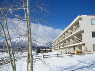 Winter view of Building
