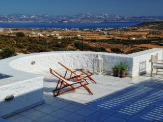 Villa Ambelas holiday vacation large villa rental greece, paros, sea view, holid