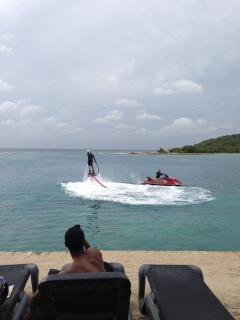 Al new on Zanzibar beach Zapata Flyboard..!!