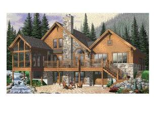 Rustic Elegance in a Custom Designed Mountain Home, Fletcher