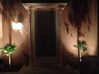 Front Entrance by Night