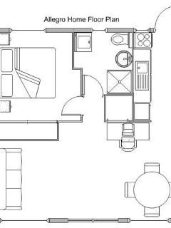 Allegro floor plan
