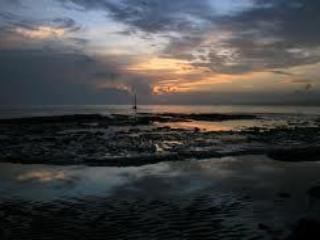 Sunset at Castor Bay