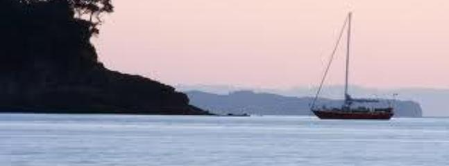 Mairangi bay at sun set