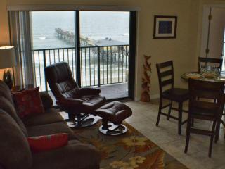 Living/Dining shown with drop-leaf table open; table tucks away when not needed