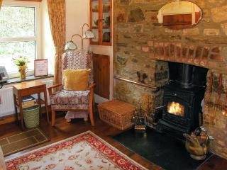JOHNNY'S COTTAGE, WIFI, woodburner, enclosed garden with stream in St. Clears