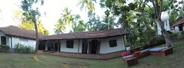 360 Degree of Templeberg Villa and surrounding Coconut Plantation and Jungle