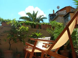 Spanish Steps : 1-br apartment with own terrace.