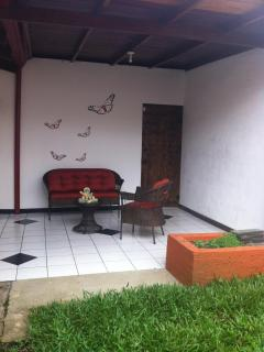 Sitting area on terrace