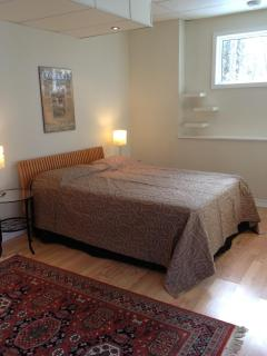 Lower Level Bedroom - Queen bed