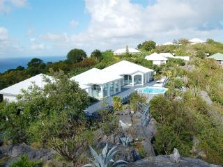 Byzance at Colombier, St. Barth - Ocean View, Calm and Private, Perfect for 2 Couples