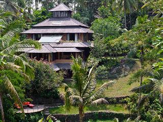 Unique River side villa Pelangi.3,4 or 5 BDR, Ubud