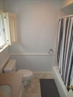 First floor bath shared by the king and queen bedroom