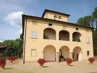 Magnificent villa in Tuscany wineyards, Lucignano