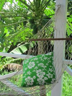 Chill out in the hammock