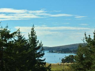 """Bay View"" From Charming Relaxing Spacious 5 Star Home-Large Yard , Deck &Spa!"