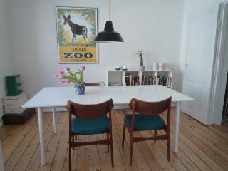 Copenhagen apartment with newly renovated kitchen, Copenhague