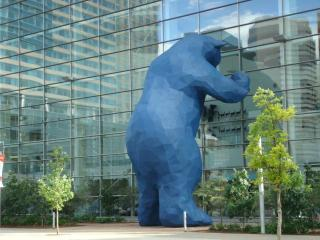 BLUE BEAR SUITE IN DENVER DOWNTOWN