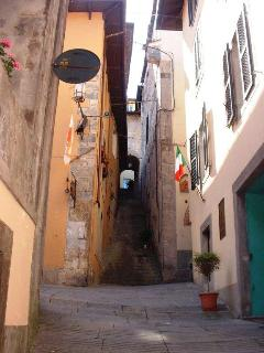 Old streets in Barga