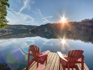 Spacious, secluded retreat  in Mont Tremblant