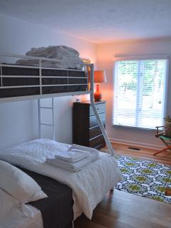 The Smith Room - bunk with all new twin and full beds