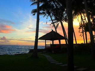 Sunset by Villa Anjani