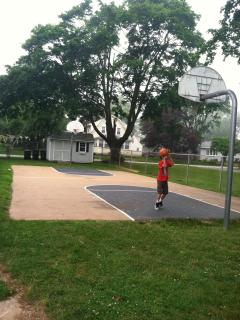 Cornfield Point Association Clubhouse Backetball court