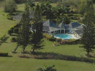 Arial view of Seafore Villa