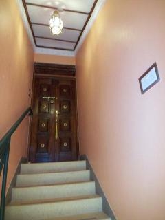 staircase & entrance
