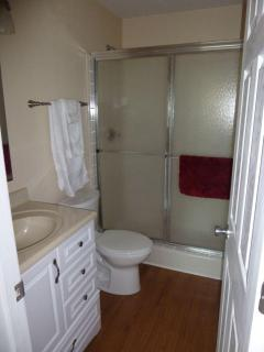 Front Bedroom Bath with Shower