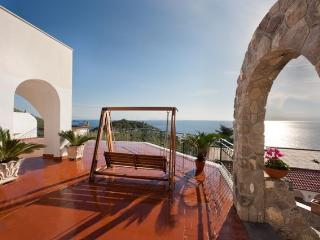 Villa Carmen Villa with view in Sorrento, Sorrento villa with pool and view