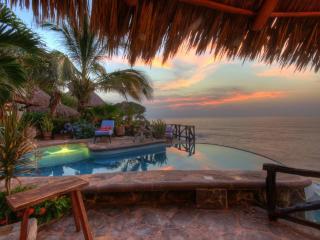 Casa Celeste, Mexican oceanfront 4 bedroom villa