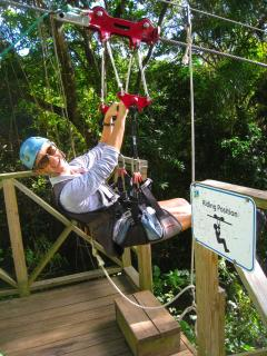 Zip Lining In St. Kitts