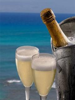 And The Evening can Start with a Bottle Of Champagne To Celebrate What Great Destination You Picked