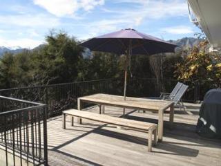 Large treetop balcony