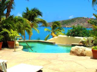 St.James's Club, 3 bedroom private Beachfront Villa, Mamora Bay, Antigua