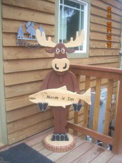 Our Friendly Moose Greeter!