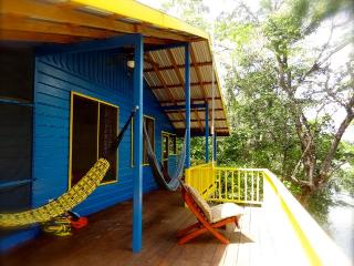 Relax in the hammock and watch the wild life: Howler Monkeys n' Parrots, Butterflys n' giant Iguanas