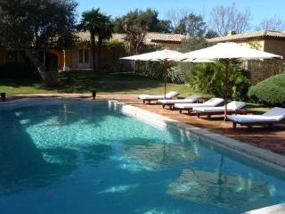 Wonderful French Riviera Vacation Rental with a Pool, Ramatuelle