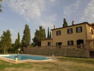Villa Grifone is set in the heart of the Chianti countryside near Arezzo, splend