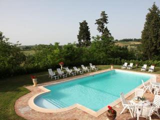 Villa Grifone is set in the heart of the Chianti countryside near Arezzo, splend