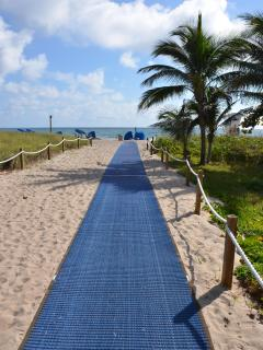 Direct Beach Portal Path..