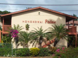 Entrance to Honokowai Palms