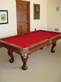 Teak Pool Table